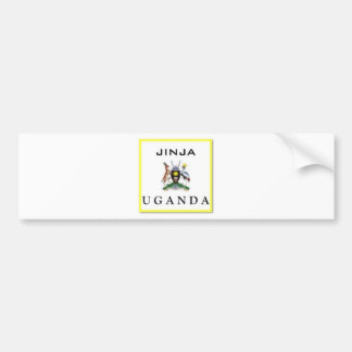 #1 Uganda Customized Products Bumper Sticker