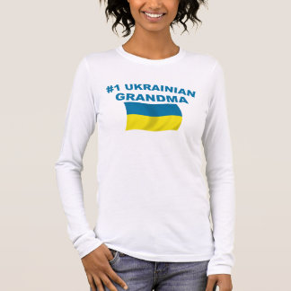 #1 Ukrainian Grandma Long Sleeve T-Shirt