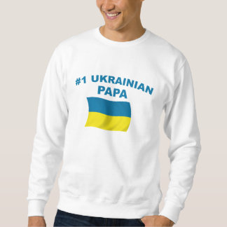 #1 Ukrainian Papa Sweatshirt