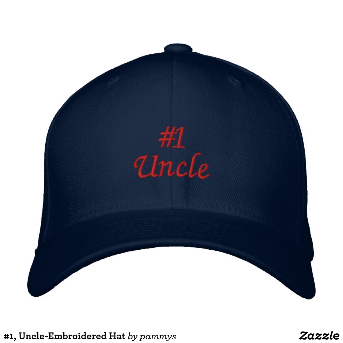 #1, Uncle-Embroidered Hat