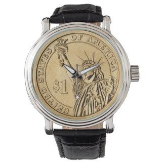 $1 USA Gold Coin Wrist Watch