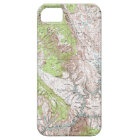 1 x 2 Degree Topographic Map Case For The iPhone 5
