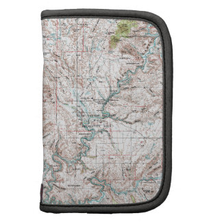 1 x 2 Degree Topographic Map Folio Planners