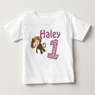 1-year old birthday t-shirt CJ-orchid style#3