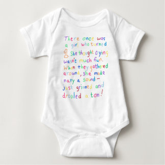 1 Year Old Girl Funny Birthday Limerick Poetry Tee Shirts