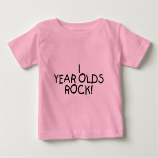 1 Year Olds Rock Baby T-Shirt