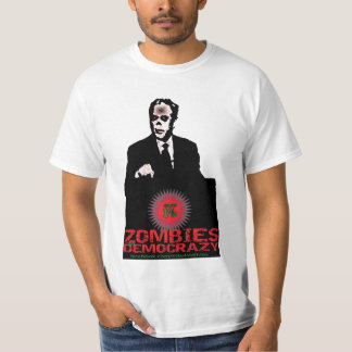 1% ZOMBIES OF DEMO CRAZY T-Shirt