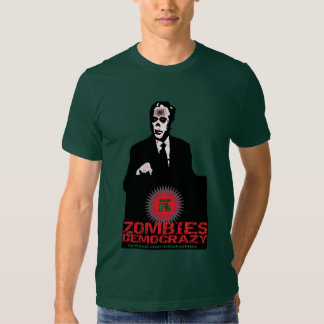 1% ZOMBIES OF DEMO CRAZY T SHIRTS