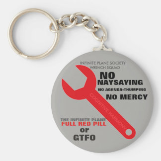 (#1A) (Grey) RED-WRENCH SQUAD (IPS) KEYCHAIN