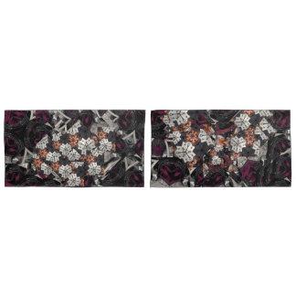 1Jewl amethyst flower garden pillowcase dog &heart