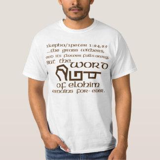 1Kepha/1Peter 1:24,25 Shirts