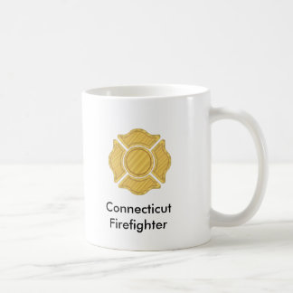1LOGO11,     Connecticut    Firefighter Coffee Mug