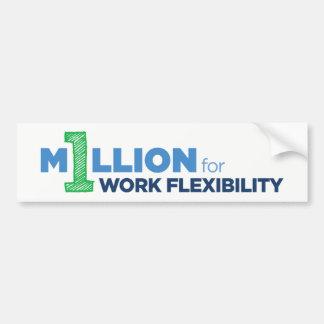 1MFWF Bumper Sticker