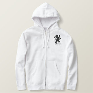 1N 7H3 M1X White Embroidered Hoodie