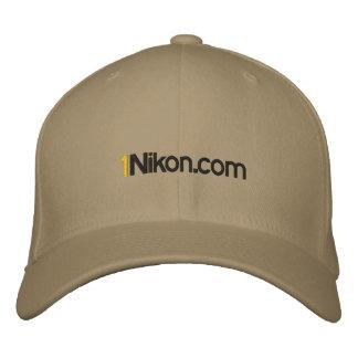 1Nikon.com Hat Embroidered Baseball Caps