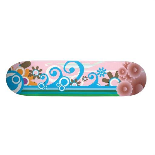 1q-1 custom skate board