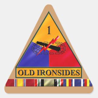 1st AD Iraq Veteran Sticker