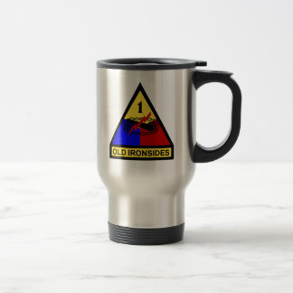 1st AD Old Ironsides Patch Coffee Mugs