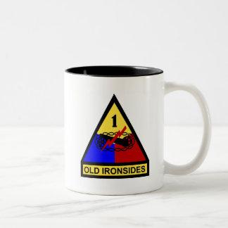 1st AD Old Ironsides Patch Coffee Mug