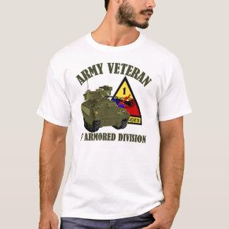 1st AD Vet - M2 Bradley T-Shirt