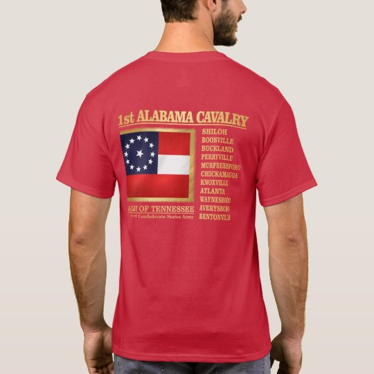 1st Alabama Cavalry (BA2) T-Shirt