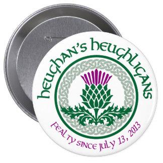 1st Anniversary HH Logo 10 Cm Round Badge