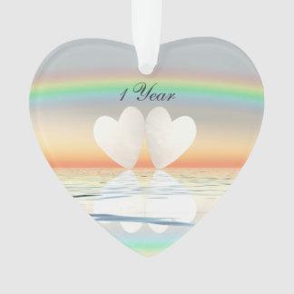 1st Anniversary Paper Hearts
