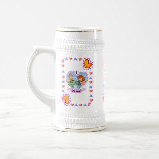 1st Anniversary - Paper,  Wedding Anniversay Mug