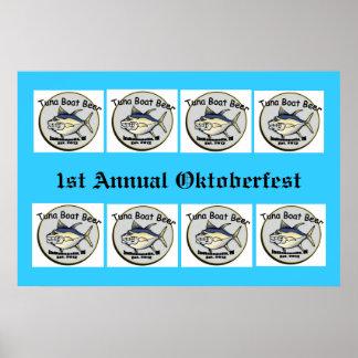 1st Annual Oktoberfest poster