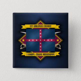 1st Arkansas Cavalry (v5) 15 Cm Square Badge