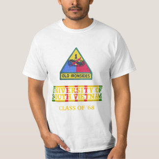 1st Armored Div University of South Vietnam Shirt