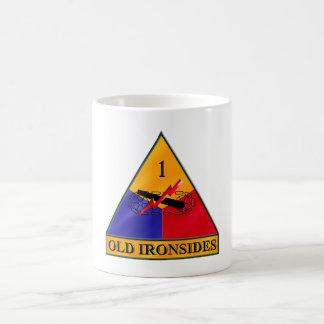 1st Armored Division Classic White Coffee Mug