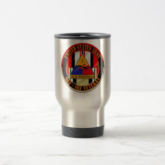 1st Armored Division OEF OIF Veteran 15 Oz Stainless Steel Travel Mug
