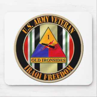 1st Armored Division OIF Veteran Mouse Pad