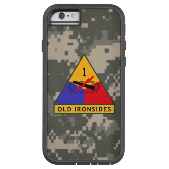 "1st Armoured Division ""Old Ironsides"" Digital Camo Tough Xtreme iPhone 6 Case"