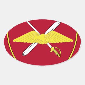 1st Army Aviation Brigade Emblem Greece Oval Sticker