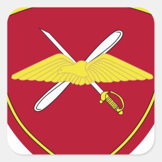 1st Army Aviation Brigade Emblem Greece Square Sticker