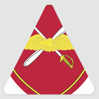 1st Army Aviation Brigade Emblem Greece Triangle Sticker