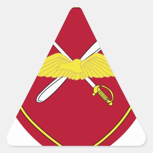 1st Army Aviation Brigade Emblem Greece Triangle Stickers