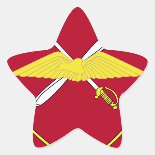1st Army Aviation Brigade Emblem Greece Star Sticker