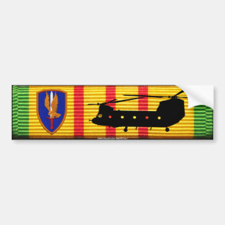 1st Aviation Bde CH-47 Chinook VSM Bumper Sticker