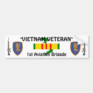 1st Aviation Brigade bumper sticker