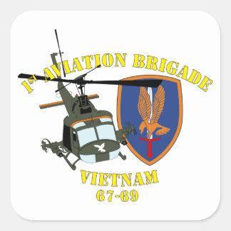 1st Aviation Brigade - Custom Square Sticker