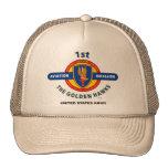 "1st Aviation Brigade ""Golden Hawks"" Vietnam Cap"