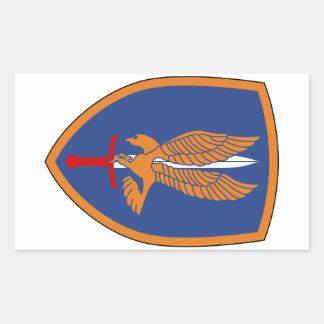 1st Aviation Brigade Rectangular Sticker