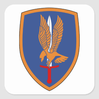 1st Aviation Brigade Square Sticker