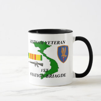 1st Aviation Brigade Vietnam Veteran Coffee Mugs