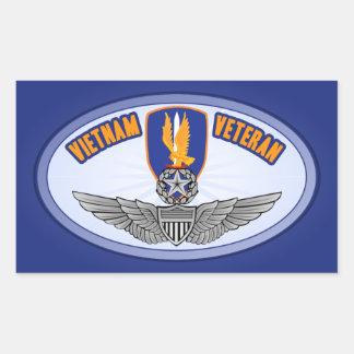 1st Avn Bde Master Aviator Rectangular Sticker