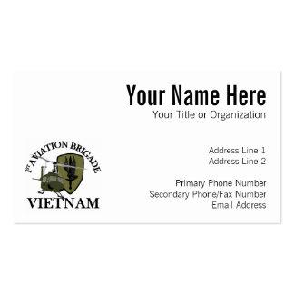1st AVN BDE Vietnam Vet Huey Business Cards