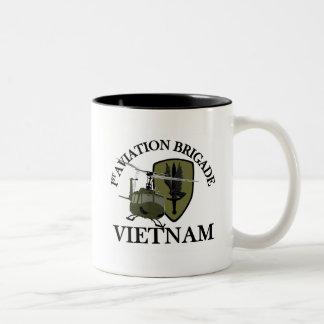 1st AVN BDE Vietnam Vet Huey Coffee Mug